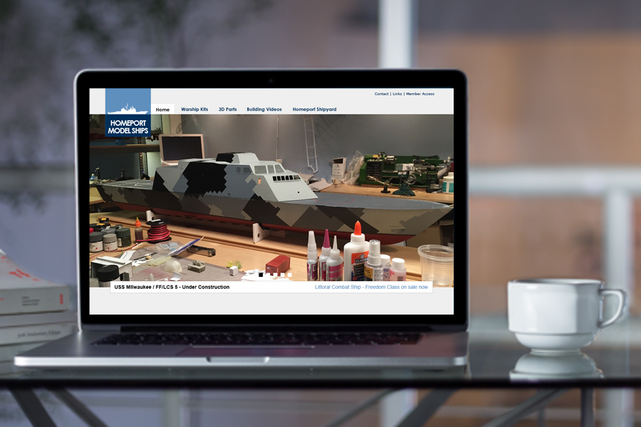 Homeport Models<span>Website Design</span>